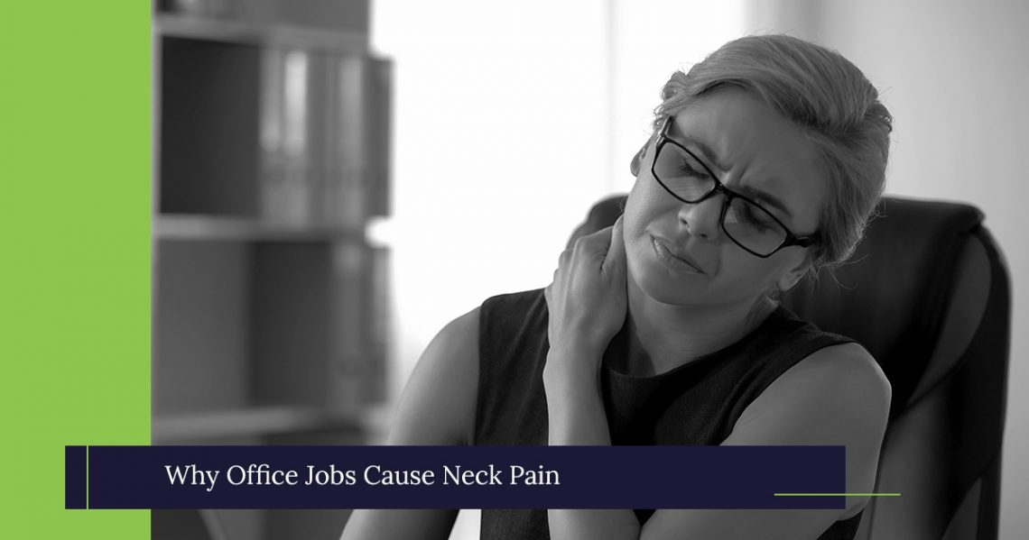 Treatment For Back Pain Manassas: Why Office Jobs Cause Neck